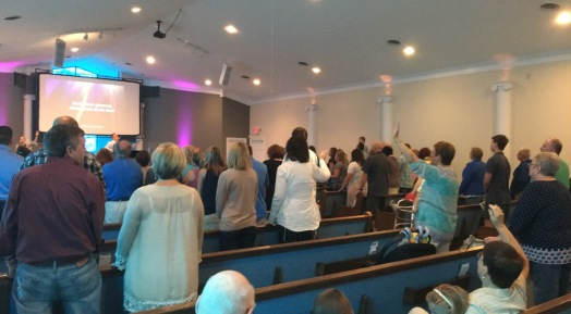Morning Service at Real Life